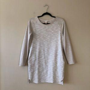 Merona tan/beige textured tunic top